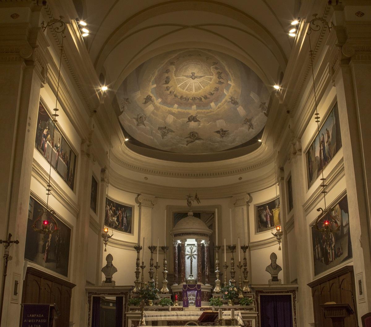 Illuminazione Presbiterio Chiesa