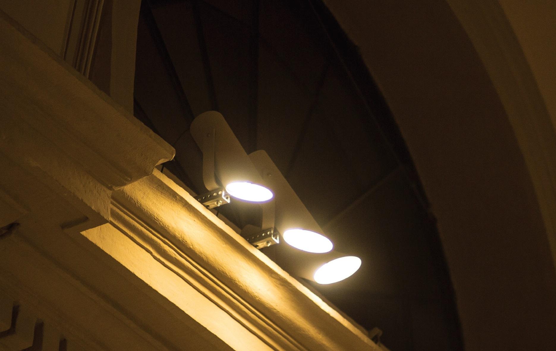 Faretti per illuminazione chiese a led dotati di ottiche purissime