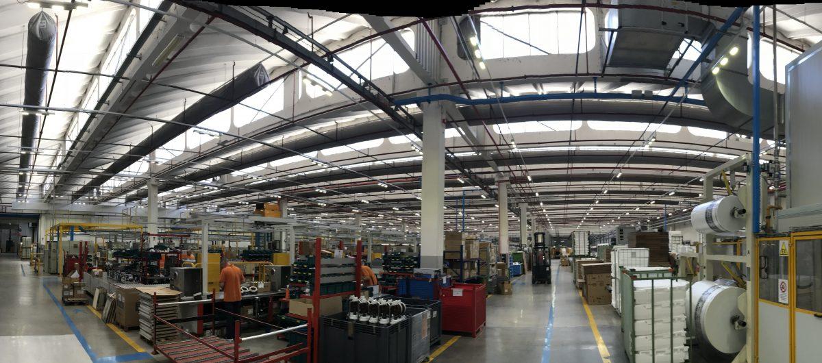 Illuminazione Capannone Industriale a LED