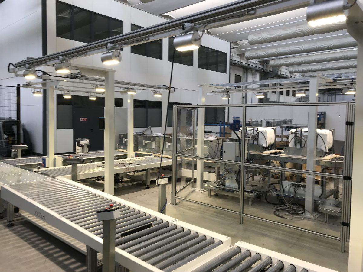 Plafoniere a LED Industriali 1 Modulo