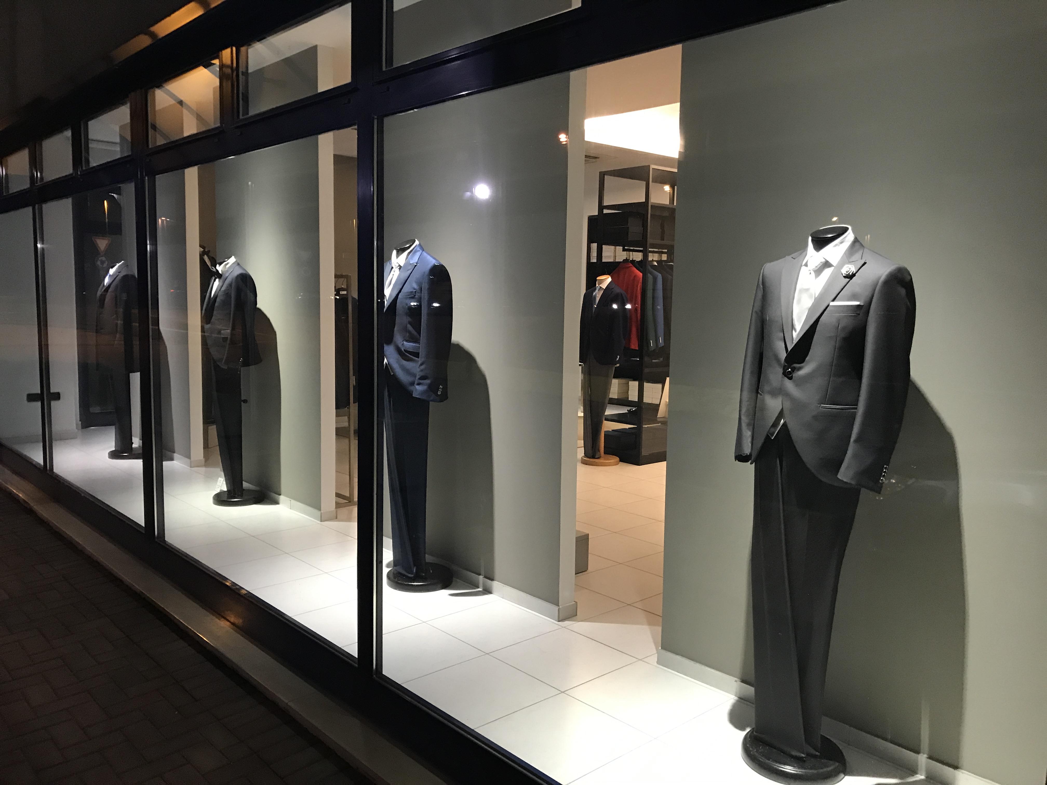 Illuminazione Negozi d'abbigliamento per Sposi