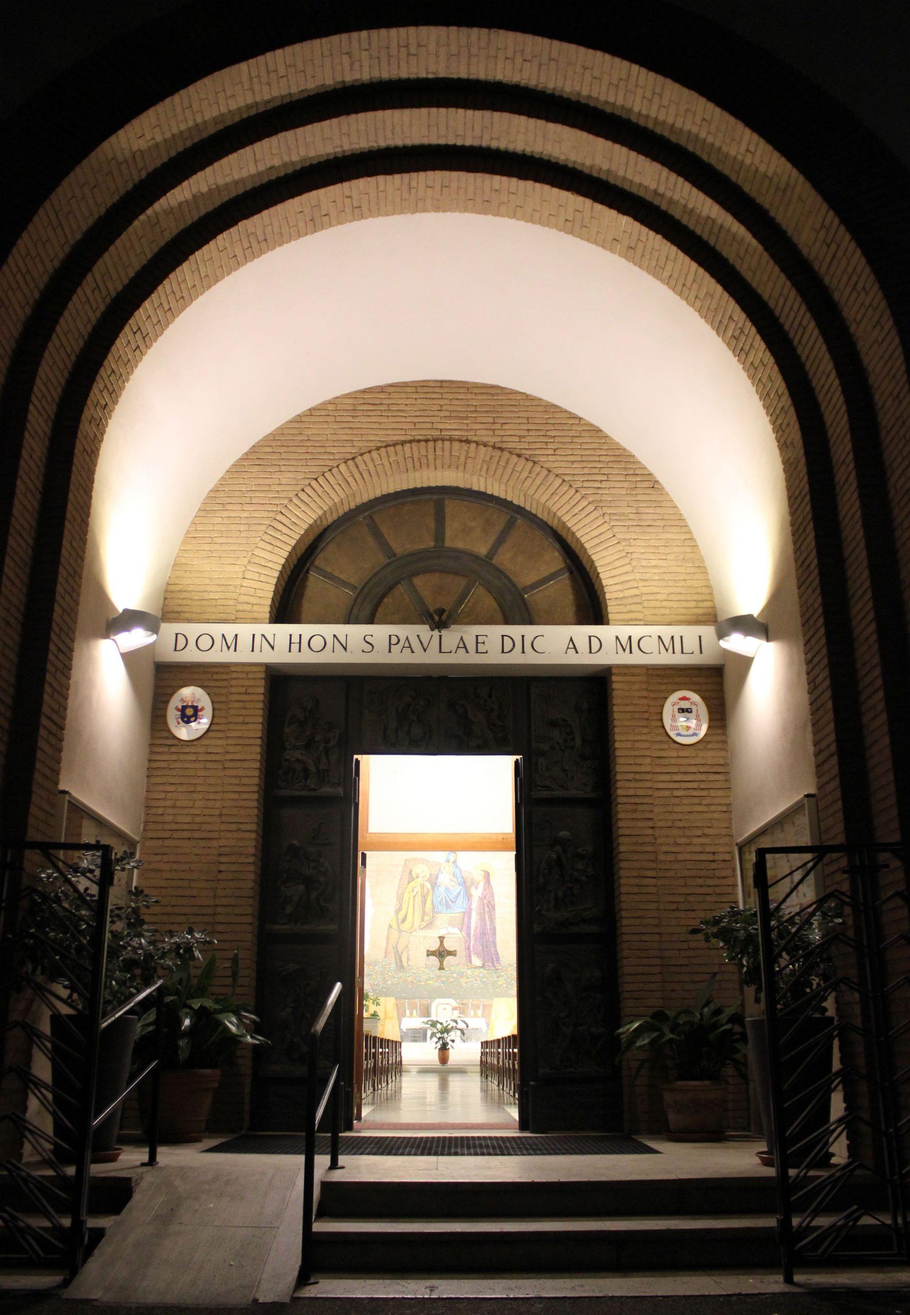 Illuminazione Esterna Chiesa Roma