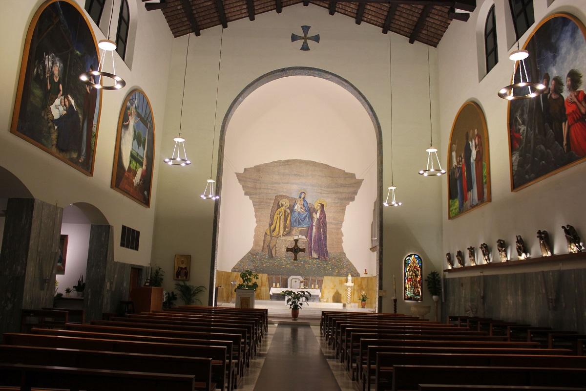 Illuminazione Interna Chiesa Roma