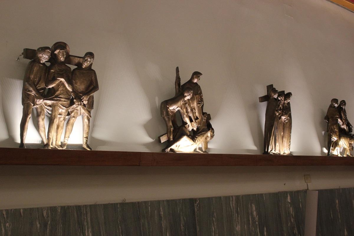 Illuminazione Statuette Chiesa Roma